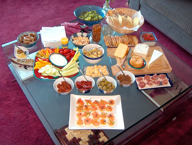 Dinner Party Appetizers
