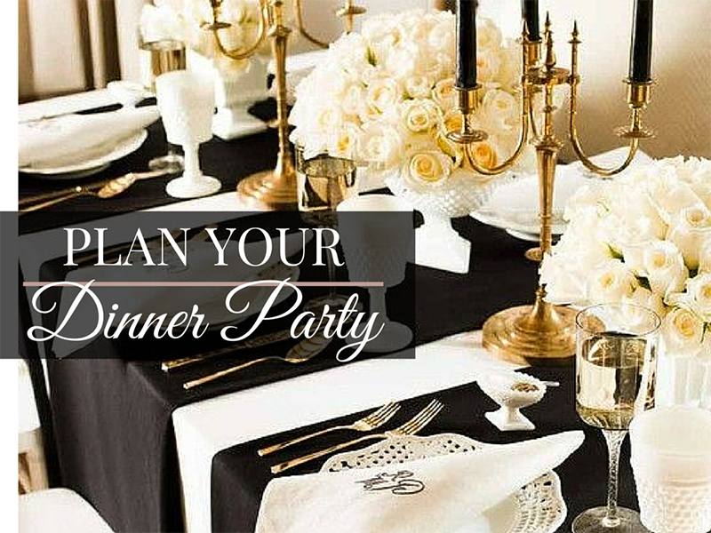 Plan A Dinner Party