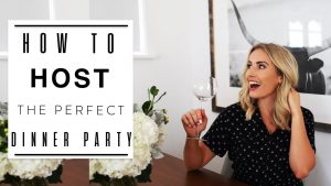 How to Host the Perfect Dinner Party | Entertaining and Hosting Tips | Tablescape Ideas